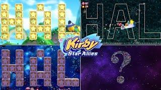 All Secret HAL rooms and a BONUS?| Kirby Star Allies ᴴᴰ (2018)