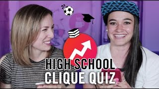 WHAT HIGH SCHOOL CLIQUE DID YOU BELONG TO?? W/ Brenna Leigh Noguez