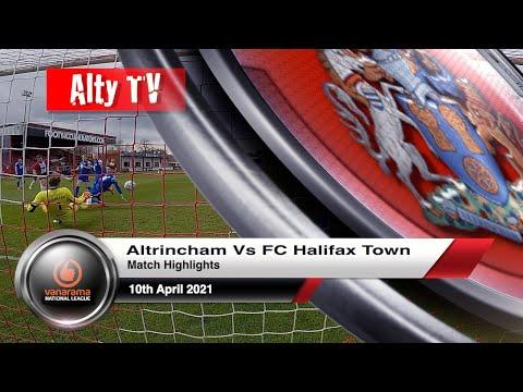 Altrincham Halifax Goals And Highlights