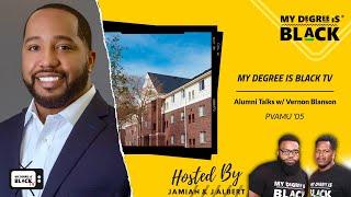 MDIB TV   Alumni Talks w  Vernon Blanson PVAMU