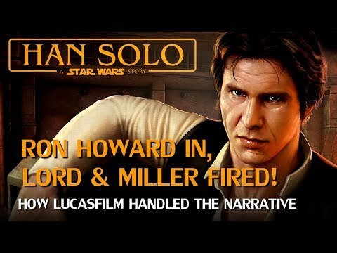 Ron Howard Replaces Lord & Miller for Star Wars Han solo: Publicity Management