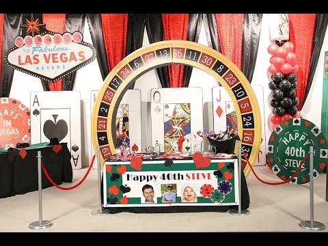 Video Casino favors party