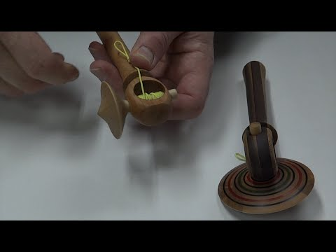 Turning A Spinning Top & Launcher