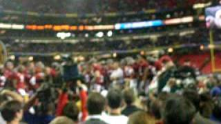 Alabama receives SEC Championship trophy
