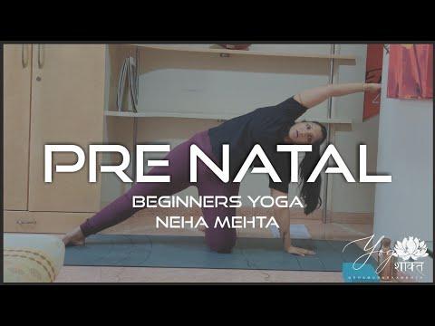 prenatal series yoga flow for beginners in pregnancy
