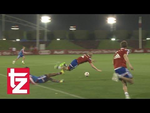 Trainingsspiel in Doha - Highlights vom 1:5 - Traumtor von Rode - Frust-Foul von Dante