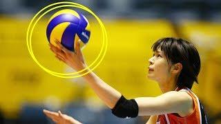【バレーボール】全日本女子バレー史上最高の選手!木村沙織の天才的なサーブ戦術【スーパープレイ】 木村沙織 検索動画 30