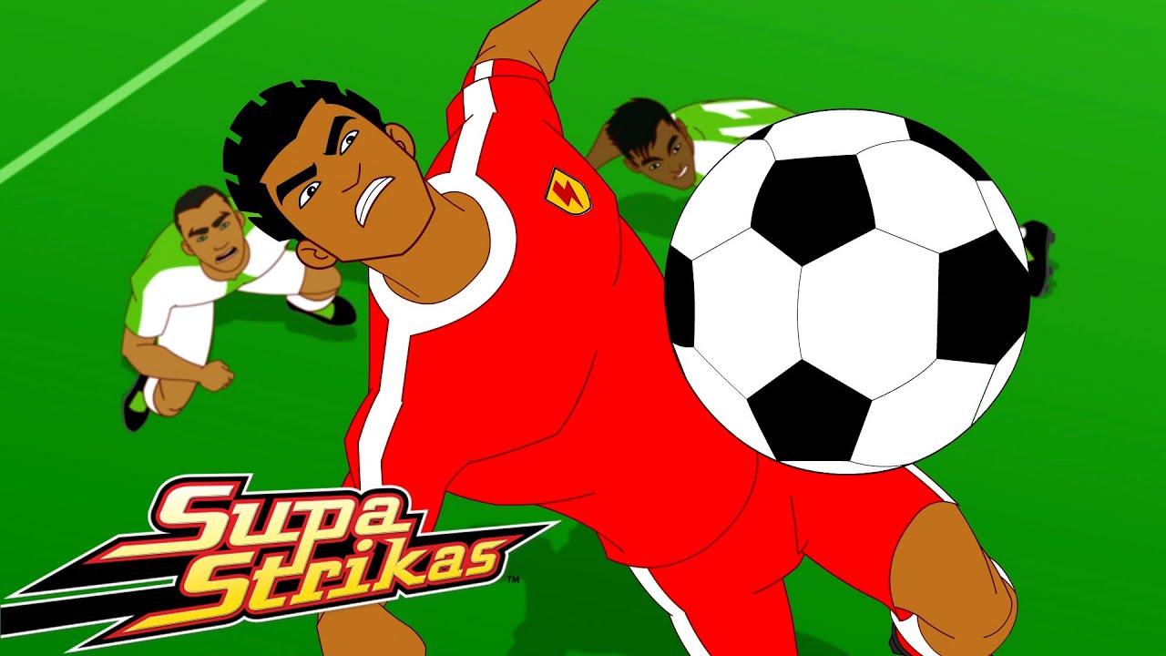 S6 E2 Fly Hard   SupaStrikas Soccer kids cartoons   Super Cool Football Animation   Anime
