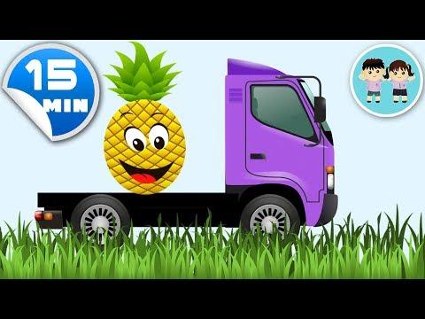 Ghiceste Fructele - Educatie Pentru Bebelusi Si Copii De Gradinita 15 MIN