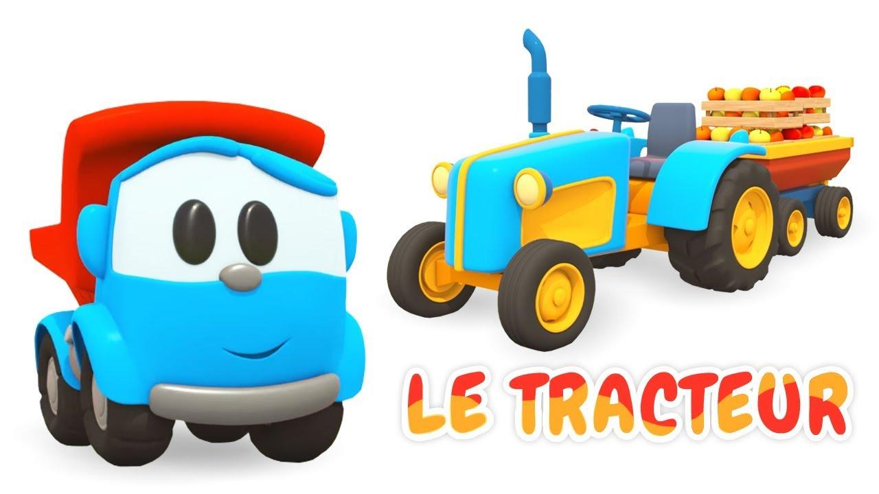 Dessin anim en fran ais pour enfants de l o le camion le tracteur youtube - Tom le tracteur dessin anime ...