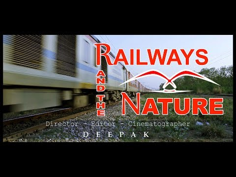 Railways and the Nature - Promo Video |  Best Canon Dslr Video [HD]