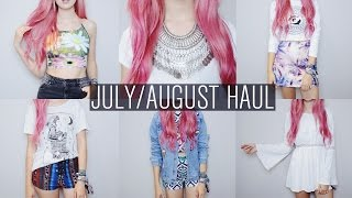 HUGE July/August Try On Haul | Missguided, Motel, Drop Dead, Hype, AX Paris, etc. Thumbnail