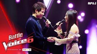 นีนี VS พลอย - รัก - Battle - The Voice Thailand 6 - 28 Jan 2018