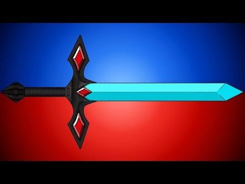 Как сделать крутой меч Minecraft.Photoshop