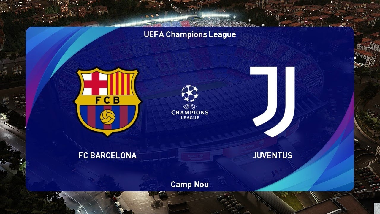 Pes 2021 Barcelona Vs Juventus Uefa Champions League 2020 Gameplay Pc Youtube