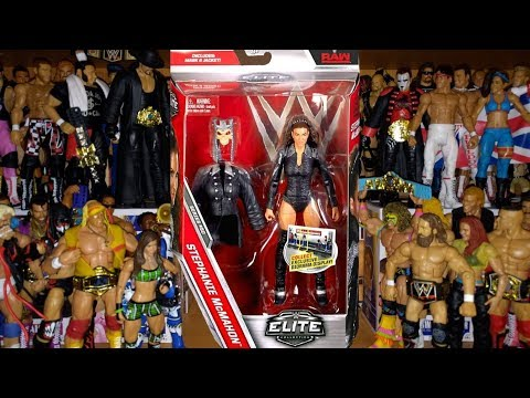 REVIEW: STEPHANIE MCMAHON WWE ELITE 50 - Mattel Figure Unboxing thumbnail