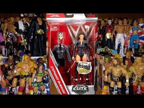 REVIEW: STEPHANIE MCMAHON WWE ELITE 50 - Mattel Figure Unboxing thumbnail