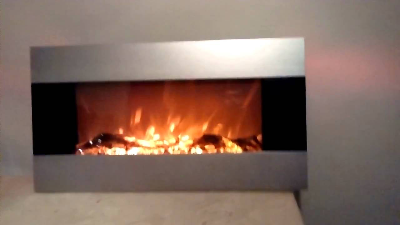 Chimenea electrica 84cm youtube - Chimeneas electricas ...