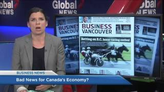 BIV on Global BC July 10 2015 Bad news for Canada's economy