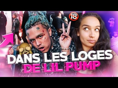 STORY TIME : DANS LA LOGE DE LIL PUMP 😈🎶