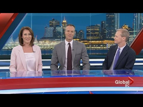 The forecast calls for a baby for Global News Meteorologist Kristi Gordon