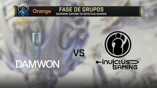 DAMWONG GAMING VS INVICTUS GAMING   WORLDS 2019   GRUPOS DÍA 8   League of Legends