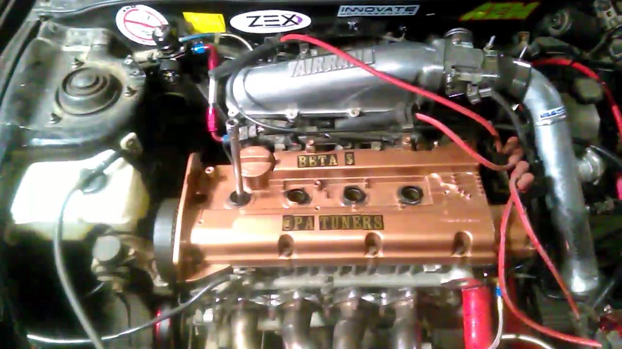 Compression Testing The Turbo Tiburon Plus 2001 Parts Car