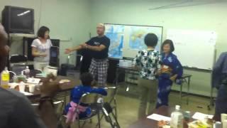 Fun in japanese class
