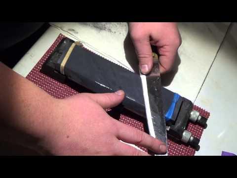 Sharpening on Sandpaper