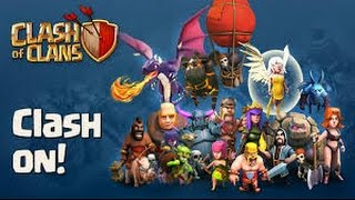 Clash of clans raid using barch and train barch troops