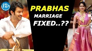 Actor Prabhas To Marry a Bhimavaram Girl After Baahubali 2