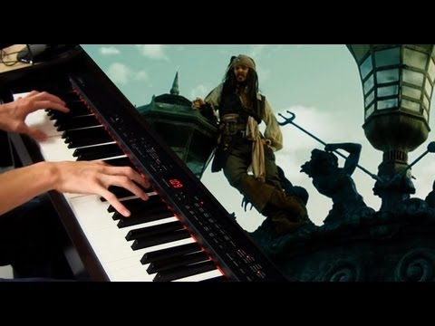 One Day   Hans Zimmer  Pirates of the Caribbean Piano