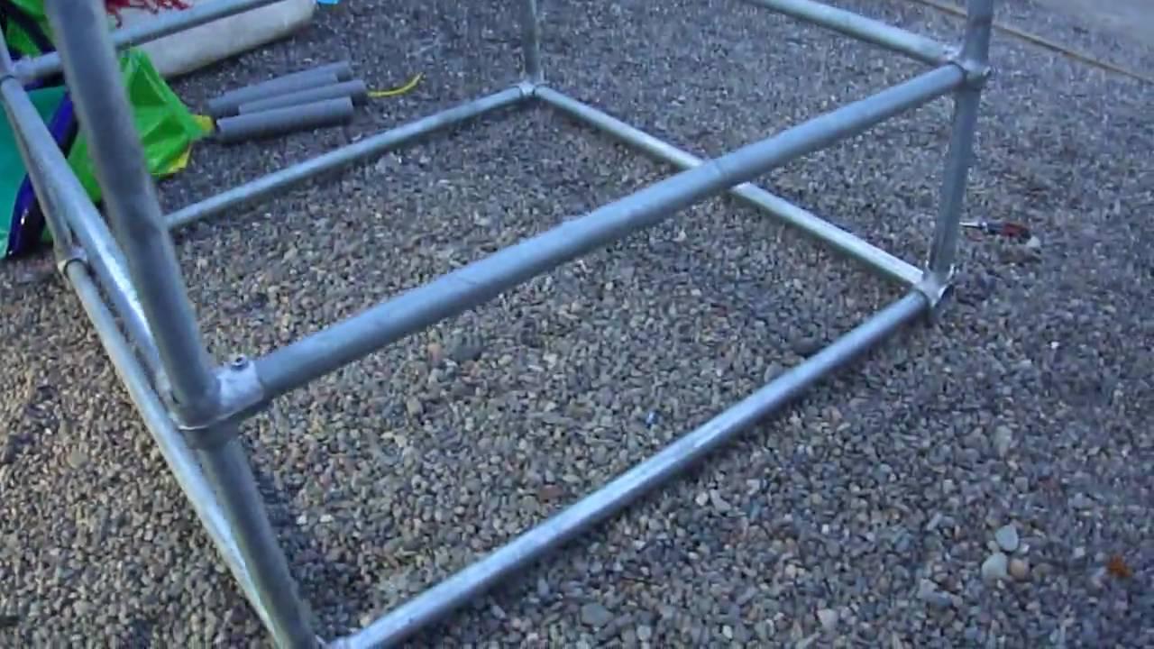 Estructura fierro galvanizado youtube - Estructura de metal ...