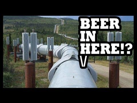 BEER PIPELINE!? - Food Feeder
