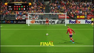 Video FINAL UEFA Europa League | MARSEILLE vs ATLETICO MADRID | Penalty Shootout | PES 2018 Gameplay download MP3, 3GP, MP4, WEBM, AVI, FLV Agustus 2018