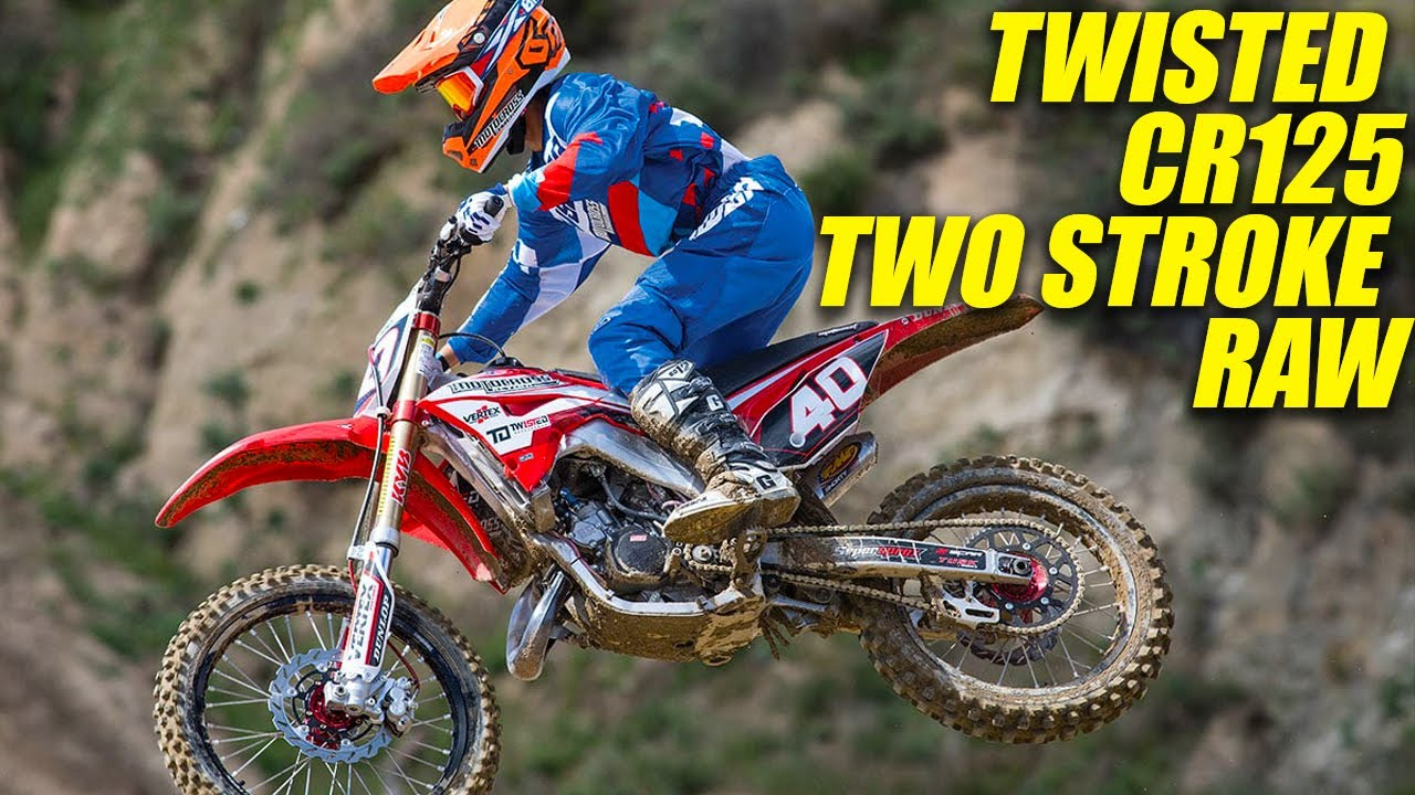 Download Twisted Honda CR125 Two Stroke RAW - Motocross Action Magazine