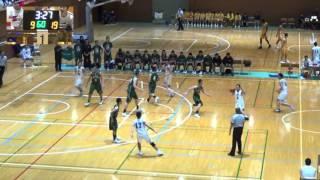 尽誠学園vs福岡第一(1Q)高校バスケ 2016 KAZU CUP