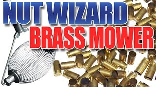 Brass Mower Demo! The logical way to pick up your brass at the gun range