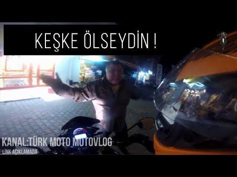 Türkiye'de ki Motorcu Kavgaları Sinirli İnsanlar vs Motorcular #10
