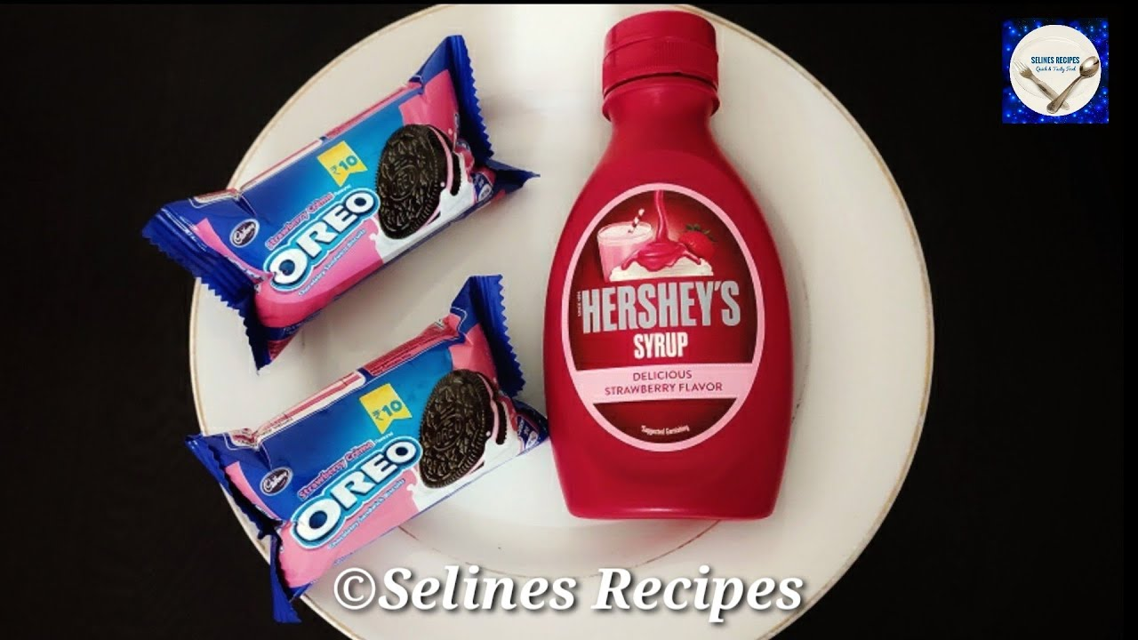Oreo Cake Only 3 Ingredients | No Bake Cake | Strawberry Oreo Cake Recipes |No Oven | No Eggs |