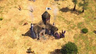 Age of Empires 3 - GERMANS (4K Gameplay)