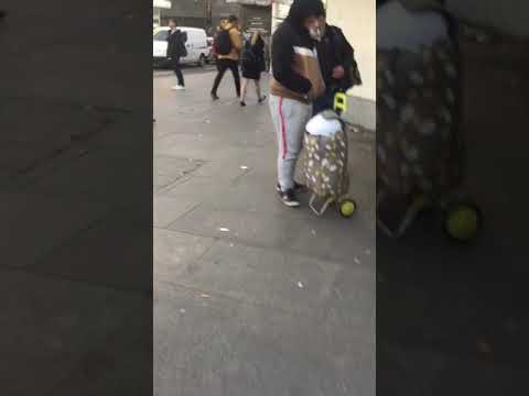 Romanian Gangs Controlling Beggars In London's West End