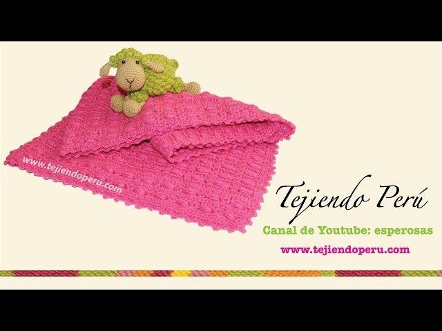 Cómo hacer una manta de ganchillo para bebé [FOTOS] | Ella Hoy