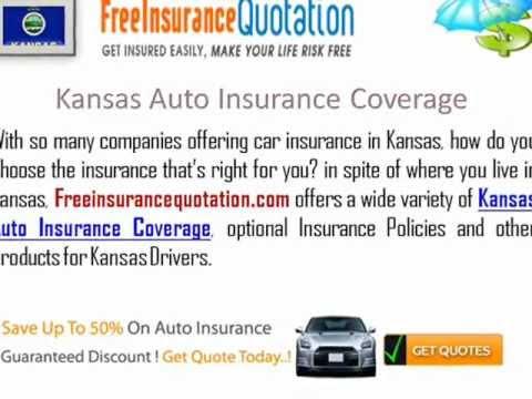 Kansas Auto Insurance Company - Kansas Car Insurance Quotes