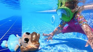 LOL in the pool  | New video  Anabella Show