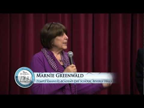 2011 Jewish Educator Awards: Marnie Greenwald, Temple Emanuel Academy Day School,