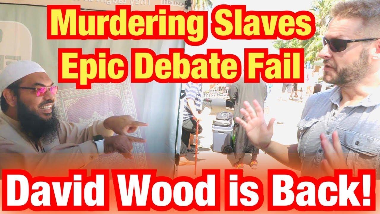 David Wood is Back!!! Debate - Slave Beating and Murder Part 1