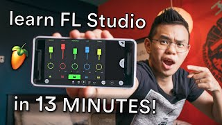 FL Studio Mobile tutorial for BEGINNERS — learn how to make music in 13 minutes!