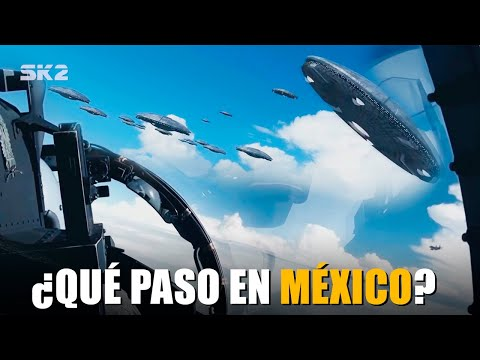 FLOTA DE OVNIS PERSEGUIDOS EN MÉXICO | OBJETO SALE DE LA ANTÁRTIDA