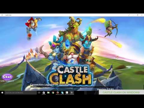 How To Create A New Castle Clash Account On PC 2016